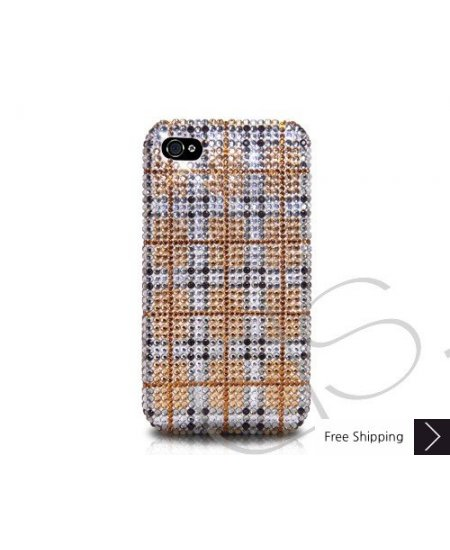 Tartan Crystallized Swarovski Phone Case