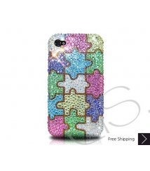 Color Puzzle Crystallized Swarovski Phone Case
