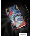 Abstract Crystallized Swarovski Phone Case