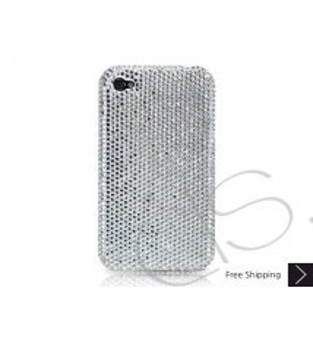 Classic Crystallized Swarovski Phone Case - Silver