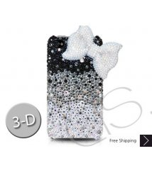 IBBON 3D CRYSTALLIZED SWAROVSKI PHONE CASE - BLUE