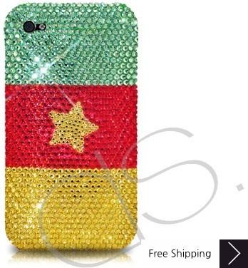 National Series Crystallized Swarovski Phone Case - Cameroon