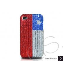 National Series Crystallized Swarovski Phone Case - Chile