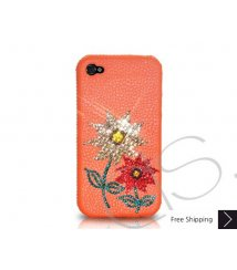 Flowery Crystallized Swarovski Phone Case