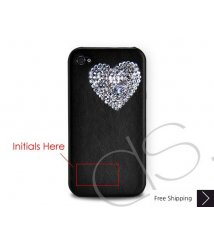 Love Heart Crystallized Swarovski iPhone Case Valentine's Special
