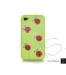 Mini Coccinella Crystallized Swarovski Phone Case