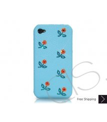 Mini Flowery Crystallized Swarovski Phone Case