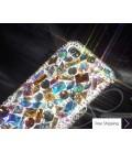 Casta Swarovski Crystal Phone Case - Silver