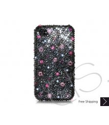 Color Dotted Swarovski Crystal Phone Case