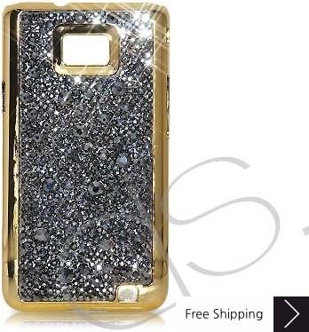 Castillo Swarovski Crystal Samsung Galaxy S2 I9100 Case - Gold
