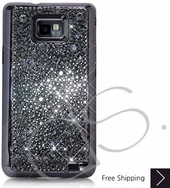 Castillo Swarovski Crystal Samsung Galaxy S2 I9100 Case - Black