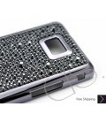 Castillo Swarovski Crystal Samsung Galaxy S2 I9100 Case - Black