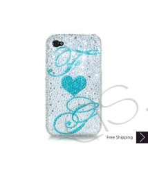 Eternal Love Personalized Swarovski Crystal Phone Case