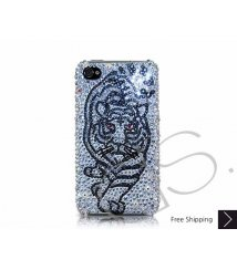 Tiger Force Swarovski Crystal Phone Case