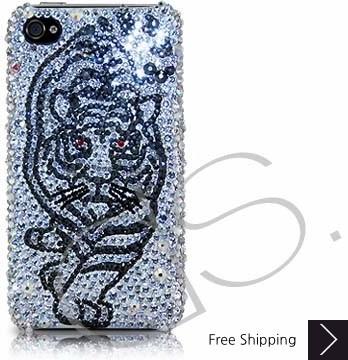 Tiger Force Swarovski Crystal Phone Case