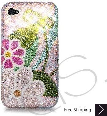 Botanic Swarovski Crystal Phone Case