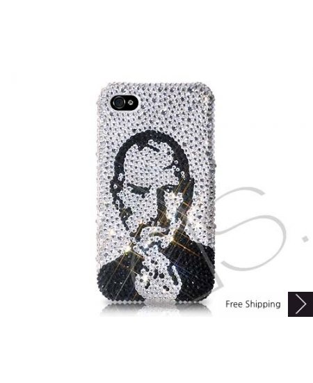 In Memory Of Steve Jobs - Swarovski Crystal Phone Case