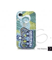 Crown Personalized Swarovski Crystal Phone Case
