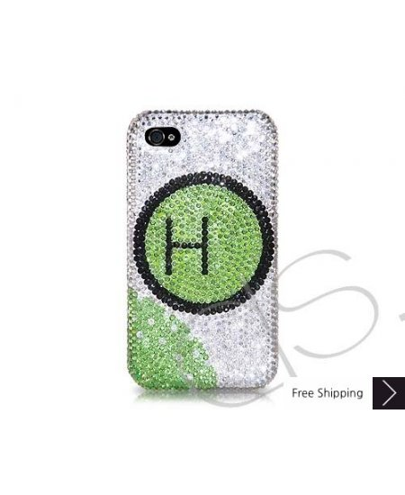 Kreis Personalized Swarovski Crystal Phone Case