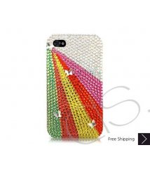 Rainbow Ray Swarovski Crystal Phone Case