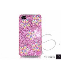 Sparkling Flower Swarovski Crystal Phone Case