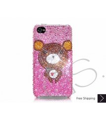 Bear Swarovski Crystal Phone Case