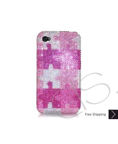 Puzzle Swarovski Crystal Phone Case
