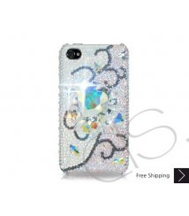 Rattan Swarovski Crystal Phone Case