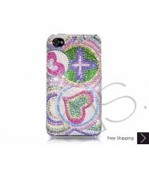 Coil Swarovski Crystal Phone Case