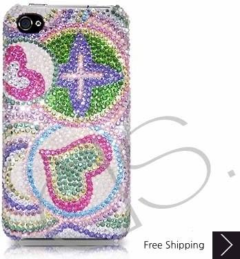 Coil Swarovski Crystal Phone Case
