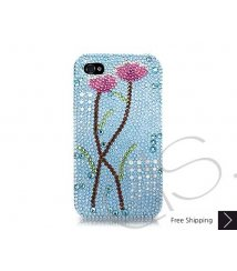 Lotus Swarovski Crystal Phone Case