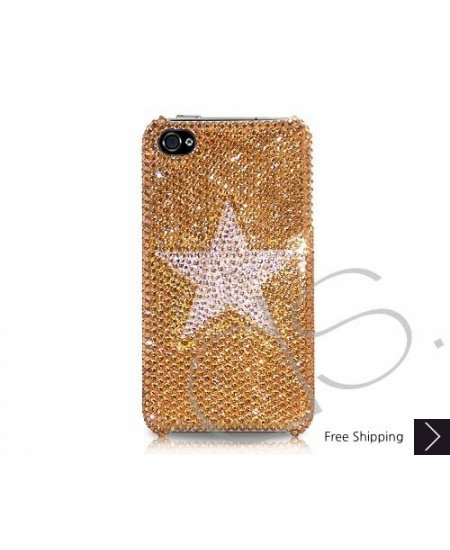 Meso Star Swarovski Crystal Phone Case