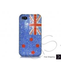 National Series Swarovski Crystal Phone Case - New Zealand