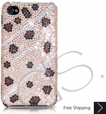 Sporadic Swarovski Crystal Phone Case