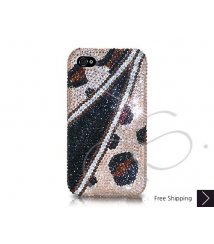 Zipper Swarovski Crystal Phone Case
