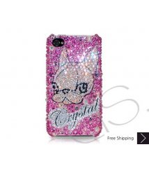 Spitz Personalized Swarovski Crystal Phone Case