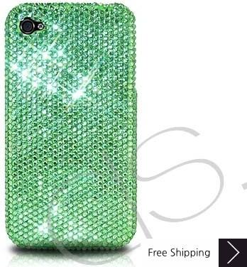 Classic Swarovski Crystal Phone Case - Green