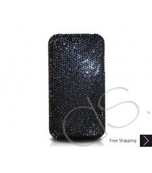 Classic Bling Swarovski Crystal iPhone 12 Case iPhone 12 Pro and iPhone 12 Pro MAX Case - Black