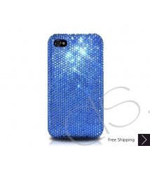 Classic Bling Swarovski Crystal iPhone XS and MAX iPhone XR Case - Blue