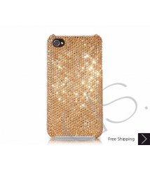 Classic Bling Swarovski Crystal iPhone 8 and iPhone 8 Plus Case - Champagne
