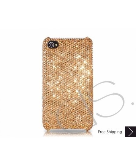 Classic Bling Swarovski Crystal Phone Case - Champagne