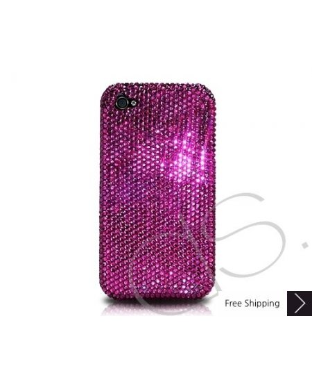 Classic Bling Swarovski Crystal Phone Case - Purple