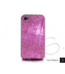 Classic Bling Swarovski Crystal Phone Case - Pink