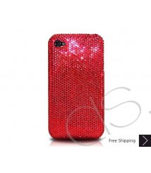 Classic Bling Swarovski Crystal Phone Case - Red