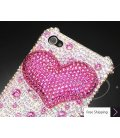 Fancy Love Bling Swarovski Crystal Phone Cases - Pink