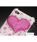 Fancy Love Bling Swarovski Crystal Phone Cases - Pink