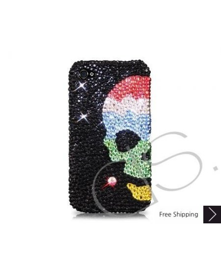 Skull Sky Bling Swarovski Crystal Phone Cases