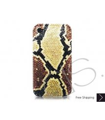 Split Bling Swarovski Crystal Phone Cases - Gold