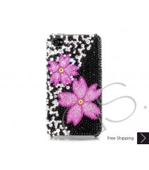 Twin Floral Bling Swarovski Crystal iPhone 6 and iPhone 6 Plus Case