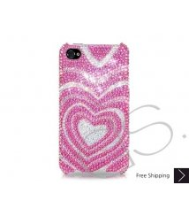 Sweet Heart Bling Swarovski Crystal iPhone 6 and iPhone 6 Plus Case